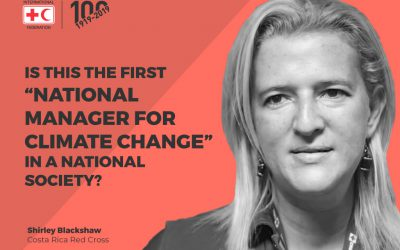 "Is this the first ""National Manager for Climate Change"" in a National Society?"